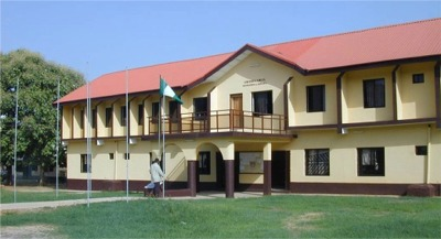 Library and Admin block