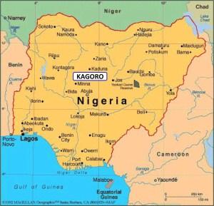 Kagoro map