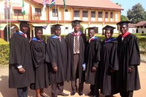 MA Graduates 2010
